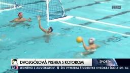 Košickí vodnopólisti tesne prehrali so súperom z Balkánu