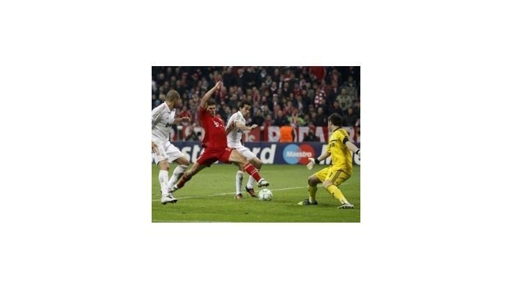 LM: Bayern zvíťazil v I. semifinále nad Realom gólom v 90. min