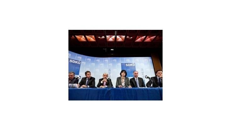 Politológovia sa zhodujú: Kandidátov na post šéfa SDKÚ-DS môže byť viac