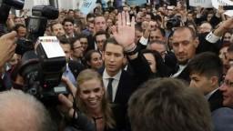Kurz chce v Rakúsku proeurópsku vládu a spoluprácu s Merkelovou
