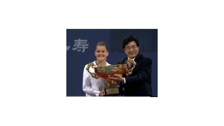 Radwanská v Pekingu triumfovala