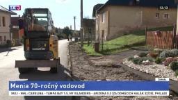 Obyvatelia Podkoníc sa dočkali, obec mení desiatky rokov starý vodovod