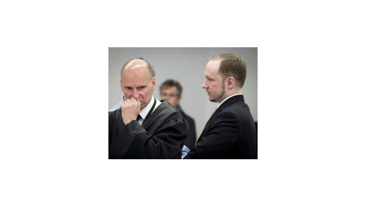 Breivik opisoval masaker na ostrove Utöya ako počítačovú hru