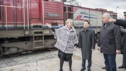 Obnovili Hodvábnu cestu, do Bratislavy prišiel vlak z Číny