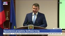 TB prezidenta finančnej správy F. Imreczeho o spustení projektu Soft-warning
