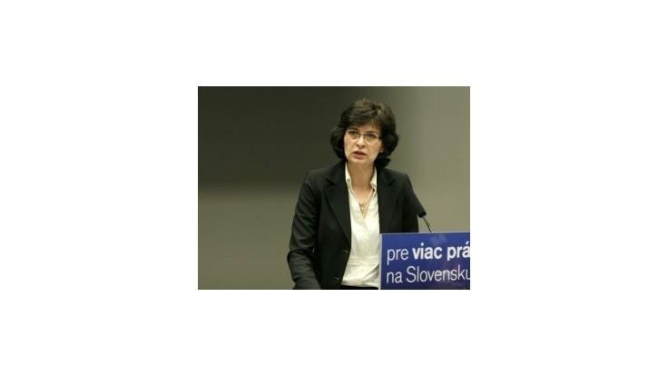 Bratislavské krajské predsedníctvo SDKÚ-DS odporučilo Luciu Žitňanskú
