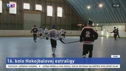 Po 16. kole hokejbalovej extraligy si pripísal body Jokerit Petržalka