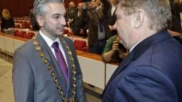 Trnka oficiálne prevzal úrad Košického samosprávneho kraja
