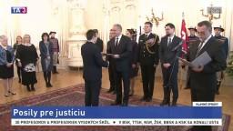 Slovenská justícia dostala posily, je medzi nimi aj Harabin mladší