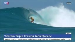 Na Havaji sa konali preteky svetového pohára v surfingu