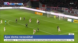 Futbal hrali aj na Štedrý deň, hráči Ajaxu doma nezaváhali
