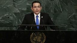 Guatemala presťahuje veľvyslanectvo do Jeruzalema, oznámil prezident