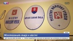 Najmenšie múzeum na Slovensku zriadili v starej skrini