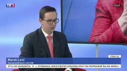 ŠTÚDIO TA3: M. Lenč o politickej situácii v Nemecku