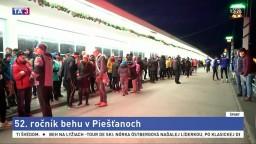 V Piešťanoch sa bežal tradičný Silvestrovský beh medzi mostami