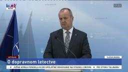 TB P. Gajdoša o sankciách za dodávku lietadla C-27J Spartan