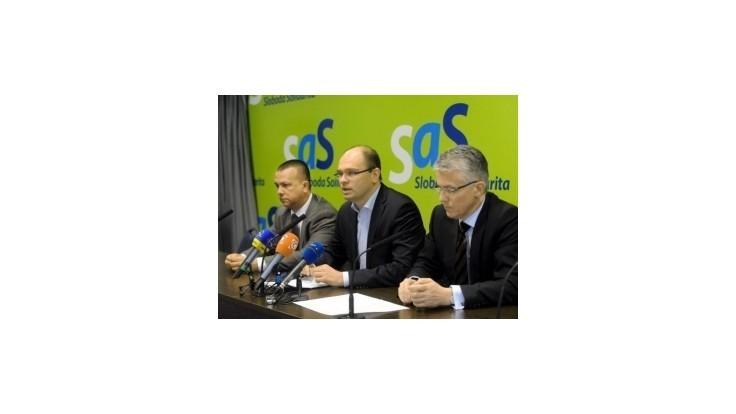 Zajtra zasadne republiková rada SaS, strana bude reflektovať voľby