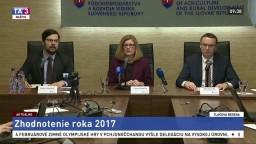TB G. Matečnej a T. Bernaťáka, ktorí zhodnotili rok 2017 v pôdohospodárstve