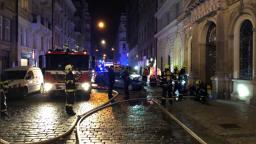 Hotel v centre Prahy zachvátil požiar, vyžiadal si obete