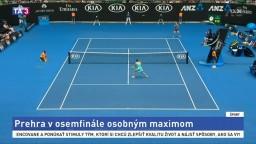Rybáriková podľahla Wozniackej v osemfinále Australian Open