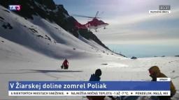 Skialpinisti strhli lavínu v Západných Tatrách, jeden neprežil