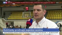 Tréner P. Jankovič o úspešnej sezóne Good Angels Košice