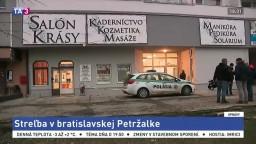 Po streľbe v petržalskej bytovke našli dvoch mŕtvych a bábätko