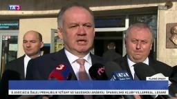 Prezident v Turčianskych Tepliciach riešil aj dlhoročný spor