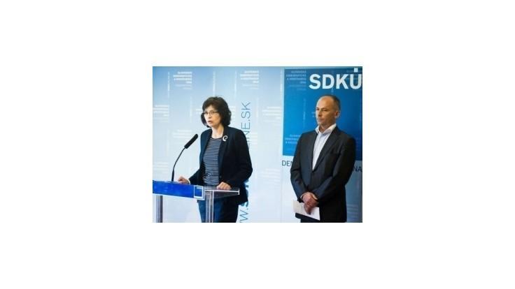 SDKÚ-DS: Programové vyhlásenie vlády neobsahuje žiadne riešenia