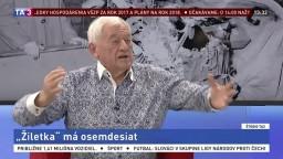 Golonka jubiluje, v TA3 hovoril o riešeniach pre slovenský hokej