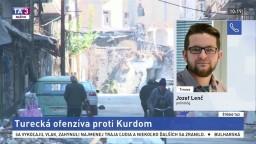 ŠTÚDIO TA3: Politológ J. Lenč o tureckej ofenzíve proti Kurdom
