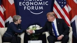 Svetovým výzvam budeme čeliť spoločne, tvrdia Mayová a Trump