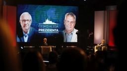 Zeman a Drahoš sa stretli v poslednej debate pred voľbami