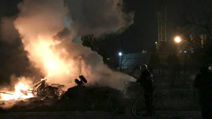 Helikoptéra sa zachytila o kábel televíznej veže, hlásia mŕtvych