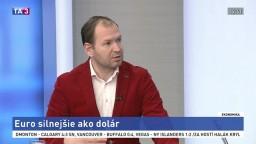 HOSŤ V ŠTÚDIU: Analytik S. Pánis o sile eura