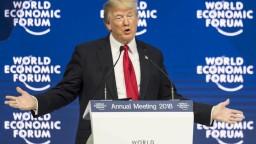 Trump v Davose obhajoval svoju politiku v súvislosti s voľným obchodom
