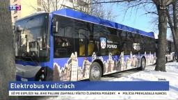 Popradskú verejnú dopravu čaká obnova, nasadili prvý elektrobus