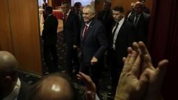 Potýčku v Zemanovom volebnom štábe vyšetruje polícia