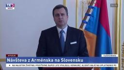 TB A. Danka s predsedom arménskeho Národného zhromaždenia