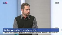 HOSŤ V ŠTÚDIU: G. Minárik o teste pre tehotné ženy