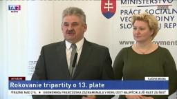 TB J. Richtera o rokovaní tripartity o trinástom plate