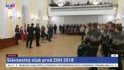 Slávnostný sľub slovenských olympionikov a paraolympionikov