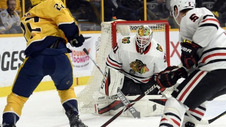 NHL: Jurčo si pripísal asistenciu, Chicago porazilo Nashville