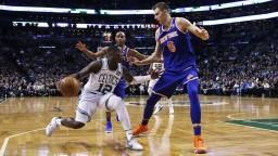 NBA: Celtics triumfovali na domácej palubovke nad New Yorkom aj bez Irvinga