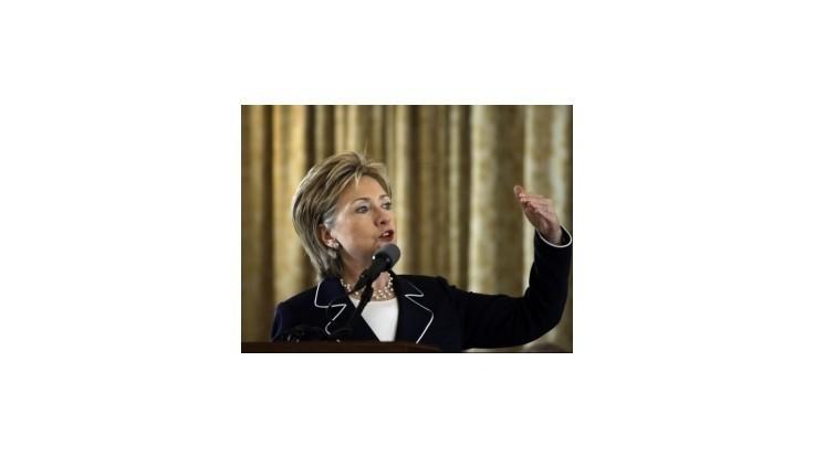 Clintonová v Číne spomenie ľudské práva; o prípade Čchen pred odletom nehovorila