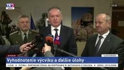 TB A. Kisku, P. Gajdoša a M. Maximu o výcvikovom roku 2017