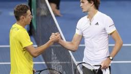 Davisov pohár otvoril štvorhodinový zápas Austrálie a Nemecka