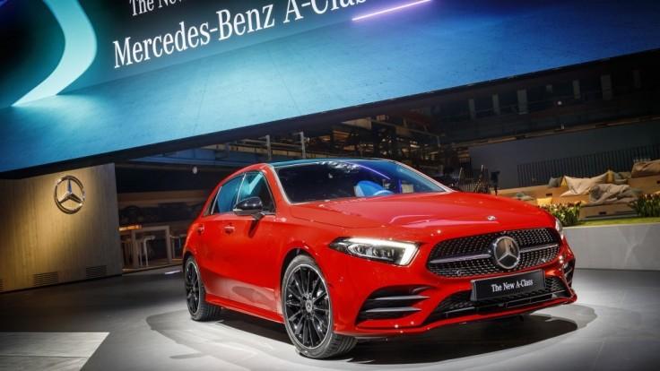 Nový Mercedes triedy A na prvých fotografiách