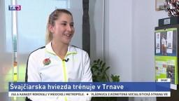 Rozhovor s tenistkou B. Benčičovou
