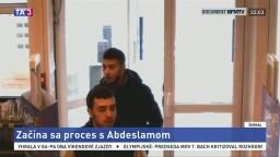 Začal sa proces s Abdeslamom, v pohotovosti budú stovky policajtov